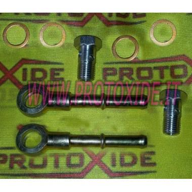 Fittings Turbolader mit Wasserschlauch lang Zubehör Turbo
