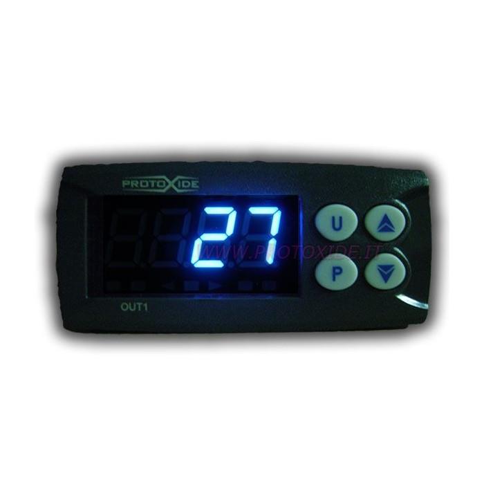 Exhaust gas temperature gauge kit with memory Temperature measurers