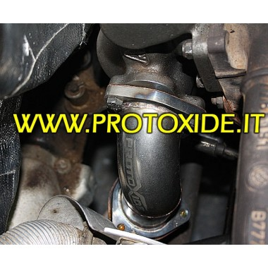 Downpipe Uitlaat voor Fiat Punto Gt - A T. - KKK16 Downpipe for gasoline engine turbo