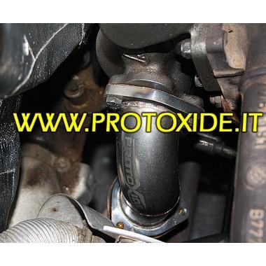 Tuyau de descente d'échappement pour Fiat Punto Gt - A T. - KKK16 Downpipe for gasoline engine turbo