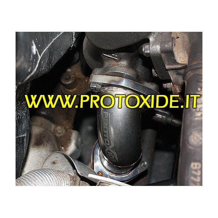 Downpipe Auspuff für Fiat Punto Gt - Eine T. - KKK16 Downpipe for gasoline engine turbo
