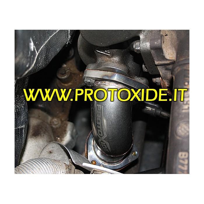 Syöksyputken Pakoputki Fiat Punto Gt - T. - KKK16 Downpipe for gasoline engine turbo