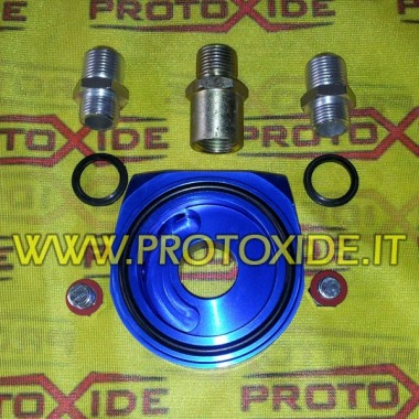 Adattatore per radiatore olio Fiat-Alfa-Lancia benzina e diesel Suporta filtre d'oli i accessoris refredador d'oli