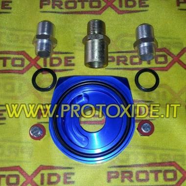 Adattatore sandwich per radiatore olio Fiat-Alfa-Lancia benzina e motori diesel Jtd Supporti filtro olio e accessori per radi...