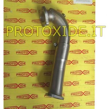 Downpipe scarico corto Grande Punto 500 1.4 per GTO221