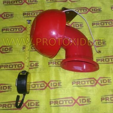 Horn med ko-bælgende lyd Horn lyder, andre alarmer til køretøjer