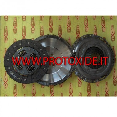 Kit reinforced single-mass flywheel 170hp VW AUDI 59kgm Steel flywheel kit complete with reinforced clutch