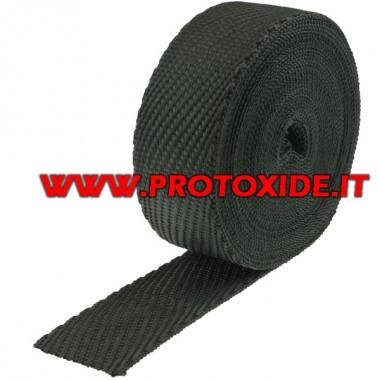 Benda collecteur et silencieux cuir Cobra 4.5mx 5cm Bande de protection thermique