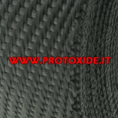 Benda manifoldu ve susturucu Deri Cobra 4.5mx 5cm Bandajlar ve Isı Koruması