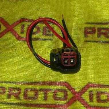 Socket, 2 vias injetores EV14 Conectores elétricos automotivos