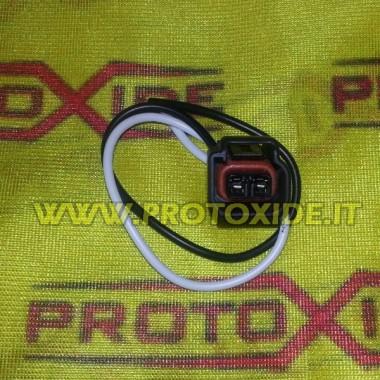Socket, 2-vägs rullar Ford Automotive elektriska kontakter