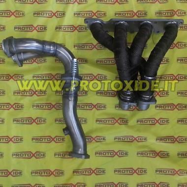 Collettore scarico acciaio Inox Renault Clio 1.800-2.000 16V 4-2-1 Collettori in acciaio per motori Aspirati