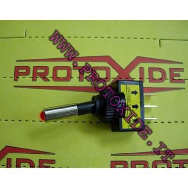 Prebacivanje s integriranim LED crveno Prekidači i tipke