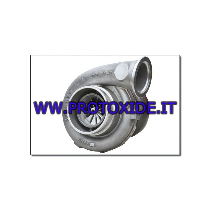 Turbocompressor Tial GTX grote Turbochargers op race lagers