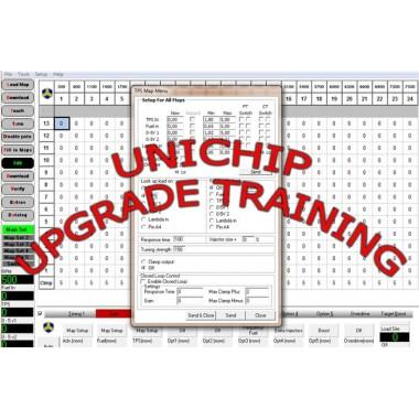 mise à niveau de Unichip de cours Notre service