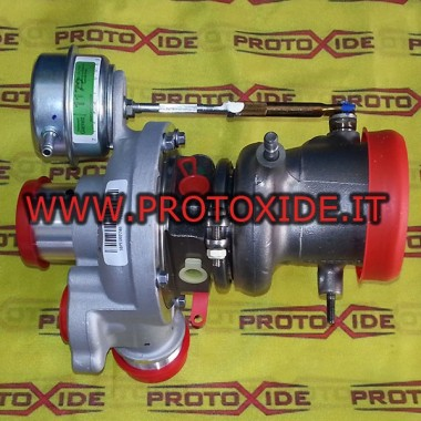 תותבי מגדש טורבו גארט GT1446 KIT Abarth SS Turbochargers על מסבי מירוץ