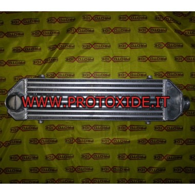 Intercooler frontale tipo 6L con attacco laterale e dritto Intercooler Aria-Aria
