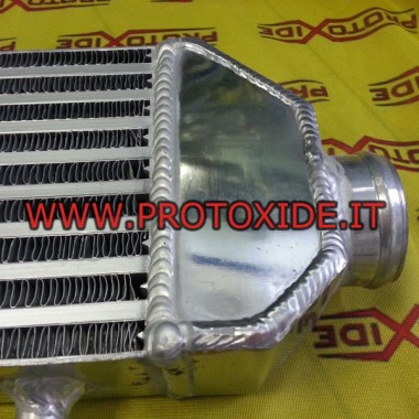 Intercooler frontal tipo 6L con conexión lateral y recta Intercooler aire-aire