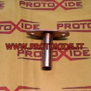 Raccordo scarico olio per turbocompressori Garrett GT40 - GTX42 T3 T4 T5 Inox Accessori per Turbo