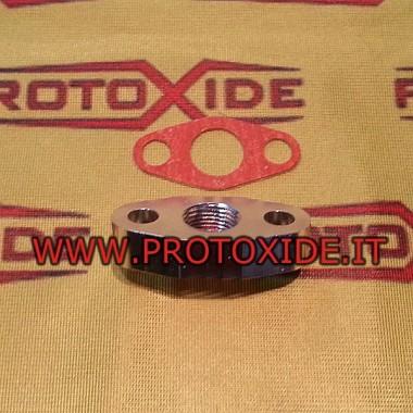 Schroefdraad olie afvoer passend voor Garrett turbo Accessoires Turbo