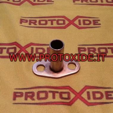 Raccordo scarico olio per turbocompressori Garrett Gt25- Gt28 , Mitsubishi e KKK in acciaio inox Accessori per Turbo