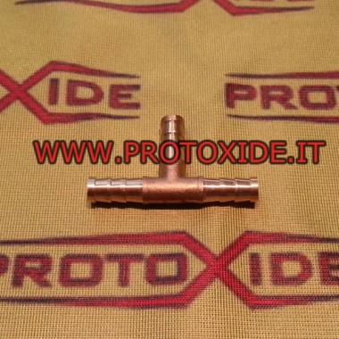 T-conector com mangueira de bronze Acessórios Turbo