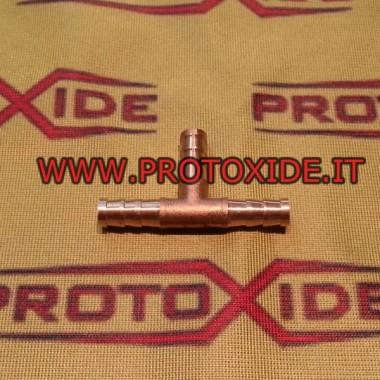 T-конектор с месинг маркуч Маслени тръби и фитинги за турбокомпресори