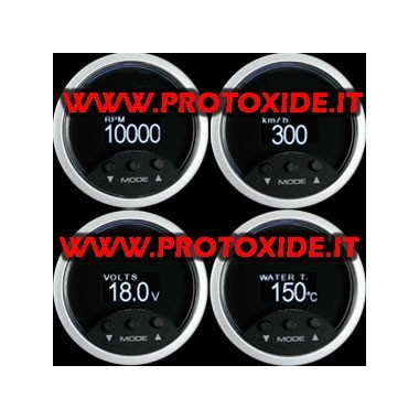 Viewer Obd2 4 parameters 52mm OBD2 en diagnostische hulpmiddelen