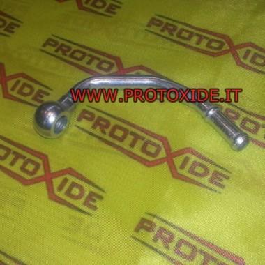 Wasseranschluss Turbolader lange Form Ölrohre und Armaturen für Turbolader