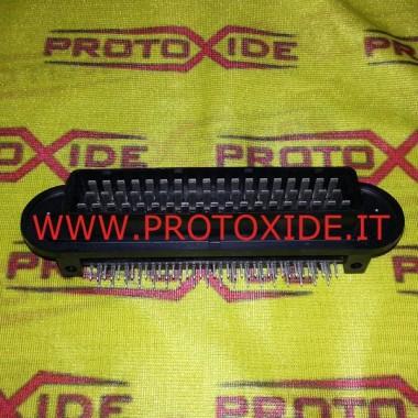Connettore lato centralina maschio 55 pin vie Fiat Coupè 20V Turbo - Fiat Punto GT Connettori elettrici automotive