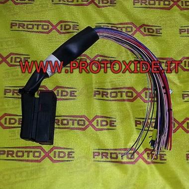 Câblage court pour le contrôle à moyen et dur Connecteurs de l'unité de commande et câblage de l'unité de commande