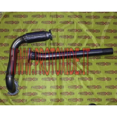 Auspuff Downpipe und zentral zu Punto GT Downpipe for gasoline engine turbo