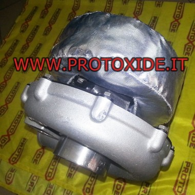 Cuffia di protezione termica turbocompressore semirigida Wraps and heatshield