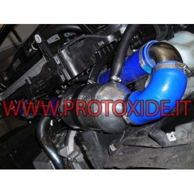 Air-to-water intercooler kit for the Abarth Grandepunto - T-jet Air-Water Intercooler