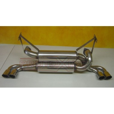Exhaust muffler for Ferrari 348 TB - TS