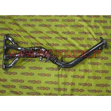 Colector de escape de acero MiniCooper 1.6 R53 4-2-1 Colectores de acero para motores aspirados