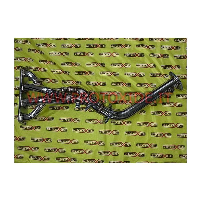 Collettore scarico acciaio Inox MiniCooper 1.6 R53 4-2-1 non catalizzato Collettori in acciaio per motori Aspirati
