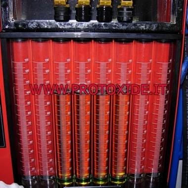 Limpieza de inyectores con líquido especial y ultrasonido. Nuestros servicios