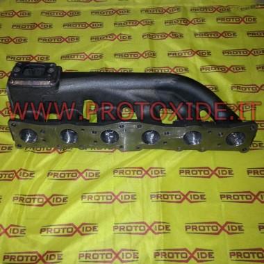 Demir egzoz manifoldu 6 silindirli BMW Z4 ve X3 Cast Dökme demir veya dökümden toplayıcılar