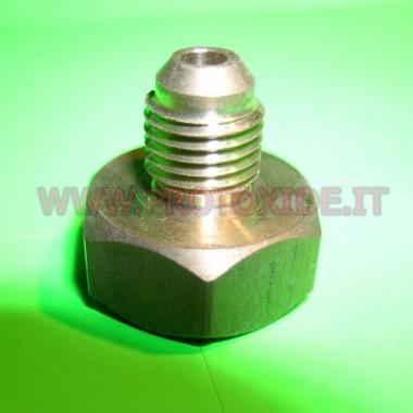 Adapter montage 4AN nitrous fles Reserveonderdelen voor distikstofoxidesystemen