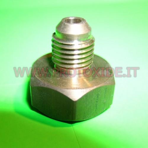 Raccord adaptateur bouteille d'azote 4AN Pièces de rechange pour les systèmes d'oxyde nitreux