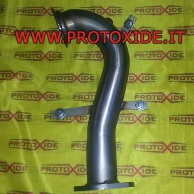Downpipe scarico libero non catalizzato Fiat 500 Grandepunto 1.400 per Turbo Garrett GT 1446 Downpipe per motori turbo a benzina