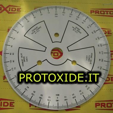 Uddannet dial for timing knaster - 190mm motor Diagnosticeringsværktøjer