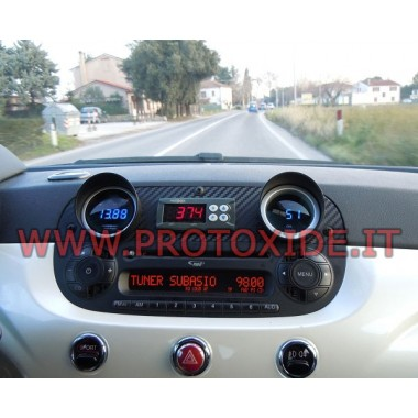 Exhaust gas temperature gauge kit with memory