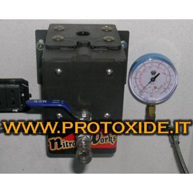 Estación con bomba para recarga de gas nitroso Repuestos para sistemas de óxido nitroso