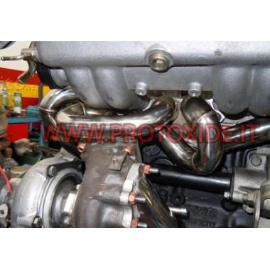 Jedno výfukové potrubie Turbo 1 300 LEN Oceľové rozdeľovače pre turbínové motory