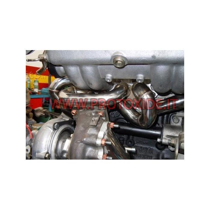 Col·lector d'escapament d'un sol turbo de 1.300 NOMÉS Col·lectors d'acer per a motors Turbo Gasolina