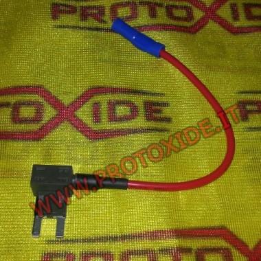 Aktuálne kohútik poistka a minifusibile Automobilové elektrické konektory