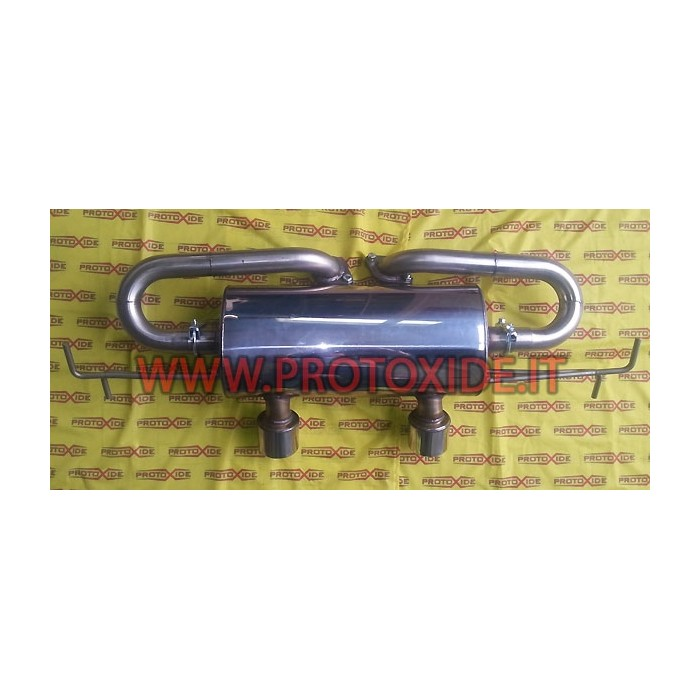 Final discharge stainless steel Renault Clio v6 Exhaust mufflers and tip terminals