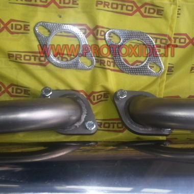 Slutafgivet rustfrit stål Renault Clio V6 Udstødningslygter og klemmer